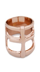 Pamela Love Cross Ring Rose Gold
