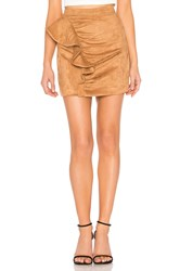 Majorelle Samara Mini Skirt Brown