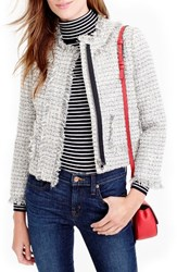 J.Crew Women's Metallic Tweed Lady Jacket