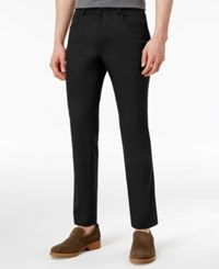 Inc International Concepts Men's Stretch 5 Pocket Pants Only At Macy's Deep Black