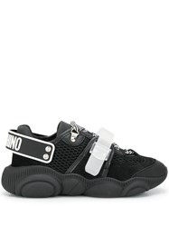 Moschino Logo Strap Sneakers Black