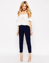 New Look Tailored Trousers Navy
