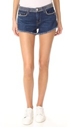L'agence Zoe Studded Shorts Authentique