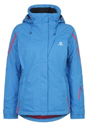 Salomon Supernova Ski Jacket Methyl Blue