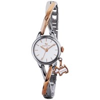 Radley Ry4231 Women's Bayer Two Tone Bracelet Strap Watch Silver Rose Gold