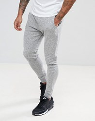 Blend Of America Skinny Joggers In Grey Stone Mix