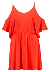 Ivyrevel Manchester Jersey Dress Bright Red