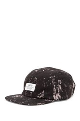 Wesc Splatter 5 Panel Baseball Cap Black