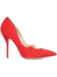 Paul Andrew Zenadia Pumps Red