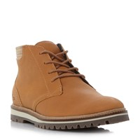 Lacoste Montbard Cleated Sole Chukka Boots Brown
