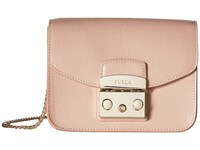 Furla Metropolis Mini Crossbody Moonstone 1 Cross Body Handbags Beige
