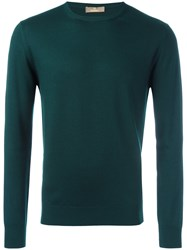 Cruciani Casual Jumper Green