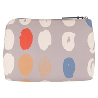 Radley Dna Medium Zip Cosmetic Case Grey