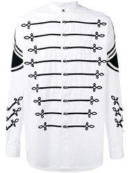 Ports 1961 Naval Rope Embroidered Shirt White