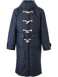 Ganryu Comme Des Garcons Padded Duffle Coat Blue