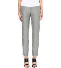 French Connection Ivy Tapered Suit Trousers Grey