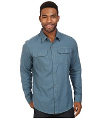 Kuhl Shiftr Long Sleeve Shirt Lake Blue Men's Long Sleeve Button Up