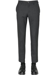 Dolce And Gabbana 18Cm Stretch Cotton Wool Blend Pants