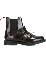 Dr. Martens 'Tina Cherry' Boots Red