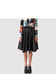 Julien David Circle Skirt Black