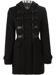 Burberry Brit Short Duffle Coat Black