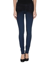 Koral Denim Pants Dark Blue