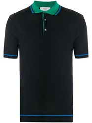 Pringle Of Scotland Contrast Collar Polo Shirt 60
