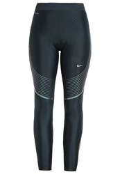 Nike Performance Power Speed Tights Seaweed Iridescent Green
