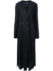 Kitx 'Wrap Strips' Trench Coat Black