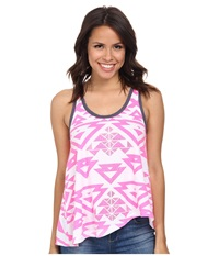 Rock And Roll Cowgirl Knit Tank Top 49 3392 Hot Pink Women's Sleeveless