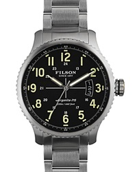 Filson The Mackinaw Field Watch 43Mm Black