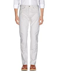 Edwin Trousers Casual Trousers White