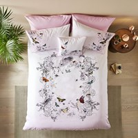 Ted Baker Enchanted Dream Duvet Cover Pink