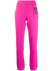 Moschino Teddy Bear Track Pants Pink