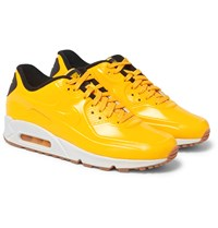 Nike Air Max 90 Vt Patent Leather Sneakers Yellow