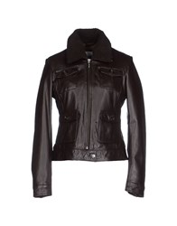 Geox Coats And Jackets Jackets Women Dark Brown