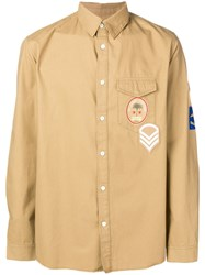 Zadig And Voltaire Patch Shirt Neutrals