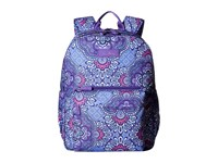 Vera Bradley Lighten Up Grande Laptop Backpack Lilac Tapestry Backpack Bags Purple