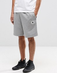 Converse Core Shorts In Grey 10002136