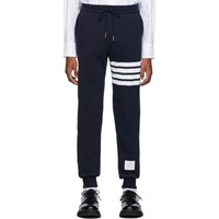 Thom Browne Navy 4 Bar Classic Lounge Pants