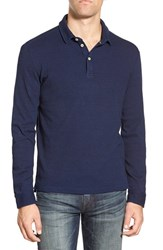 Men's Surfside Supply Waffle Knit Long Sleeve Polo