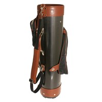 Treccani Milano Sports Leather Golf Bag Multi