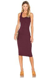 Sen Ora Dress Burgundy