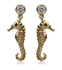 Theo Fennell Seahorse Drop Earrings Female