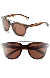 Men's Original Penguin 'The Bogart' 51Mm Sunglasses Feathered Brown Brown