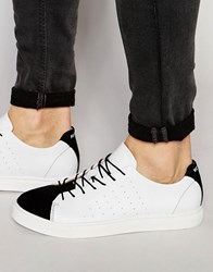 Selected Homme Dylan Mix Trainers White