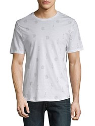 Sovereign Code Graphic Cotton Tee Brew White