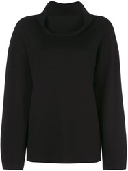 Adam By Adam Lippes Double Face Jumper Black