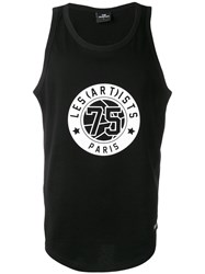 Les Artists Art Ists Number Printed Vest Black