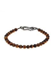 Bottega Veneta Tiger Eye Stone Bracelet
